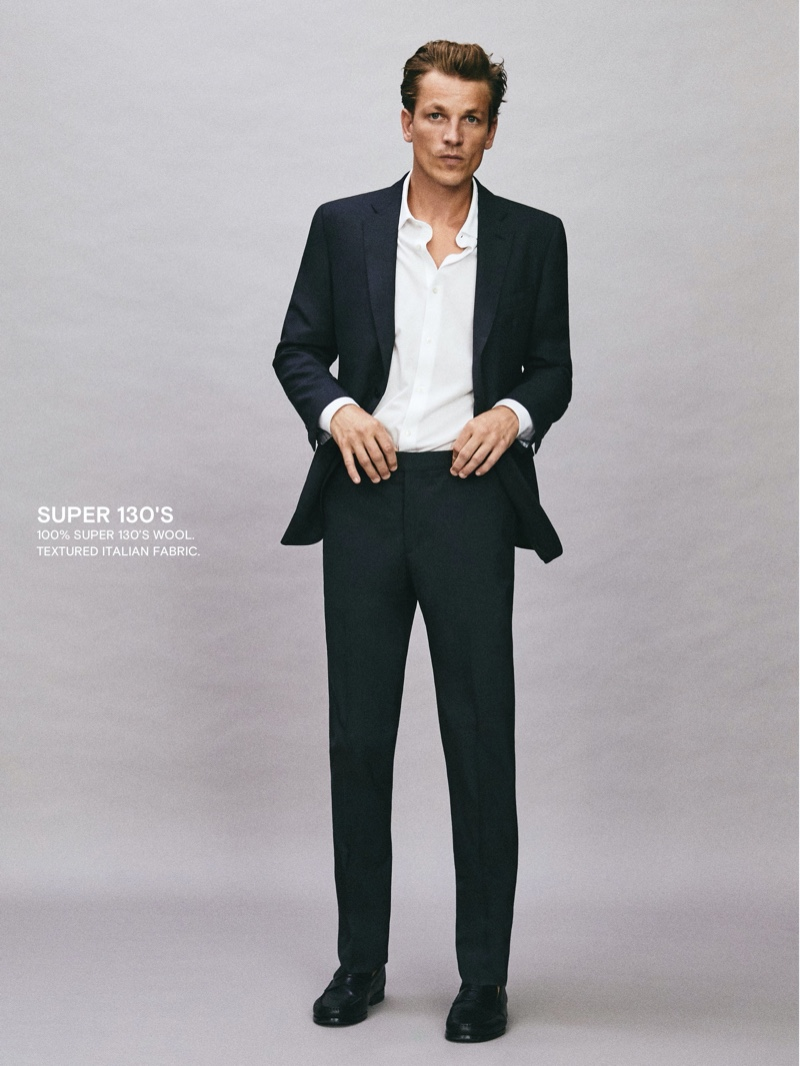 Massimo Dutti Rounds Up Its Suits for a Sartorial Affair
