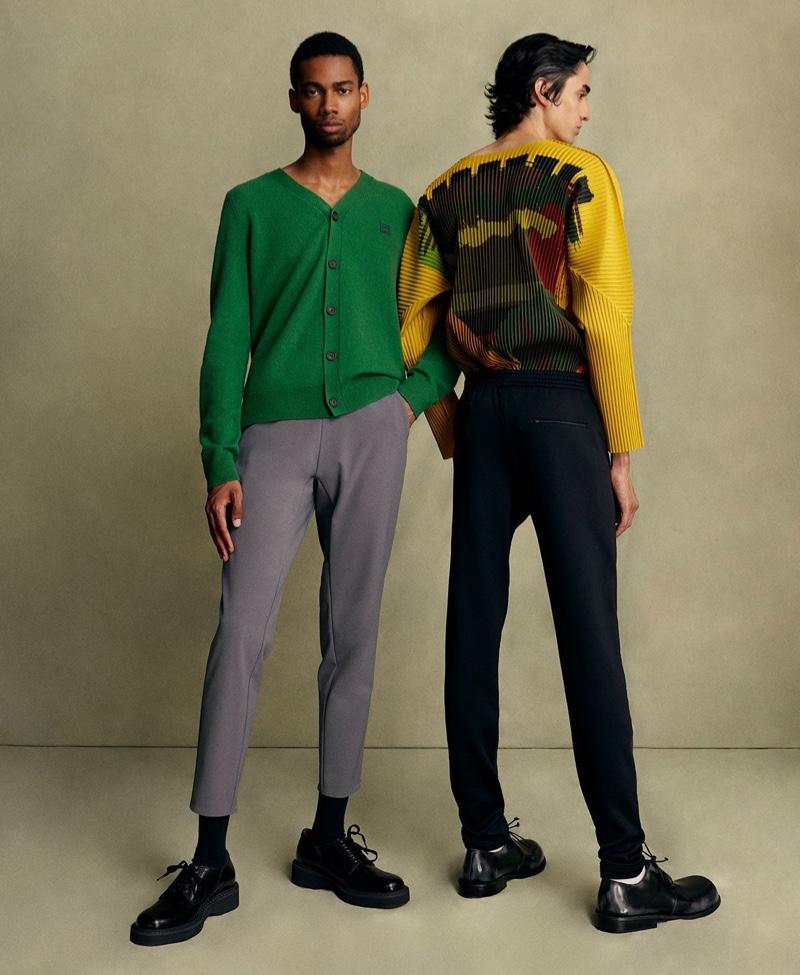 Seasons Change: Aramish & Keiron Don New Wardrobe Staples for MatchesFashion