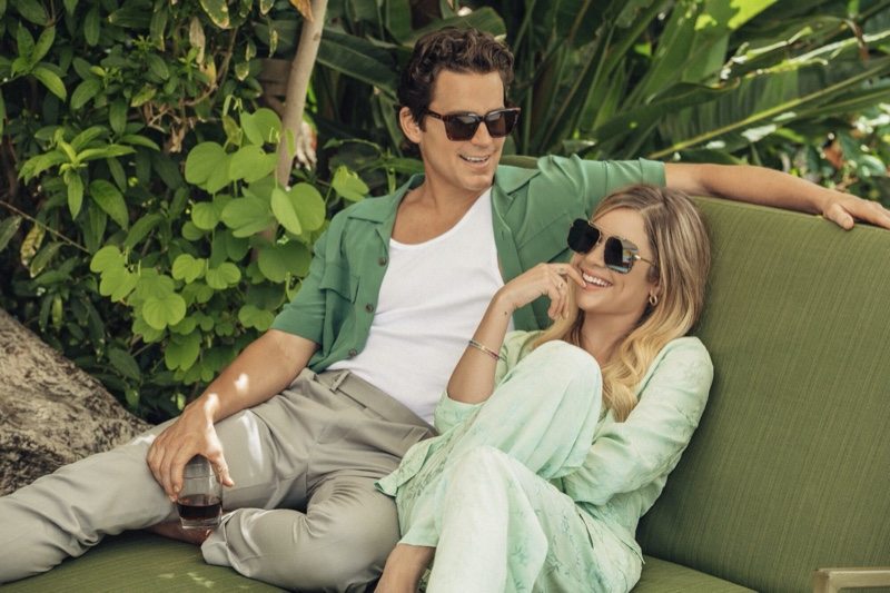 Matt Bomer & Ashley Benson Team Up for Privé Revaux Collection