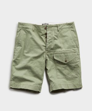 Utility Short in Olive