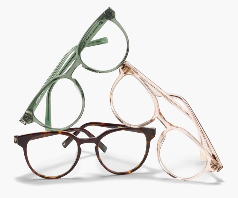 Eyewear from Warby Parker's fall 2020 collection.