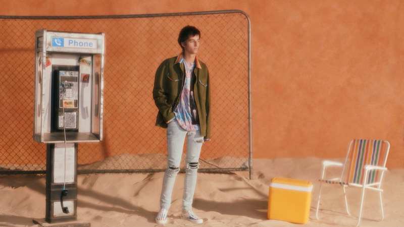 AMIRI Brings 'Palm Trees & a Cool Breeze' to Mr Porter with Capsule Collection