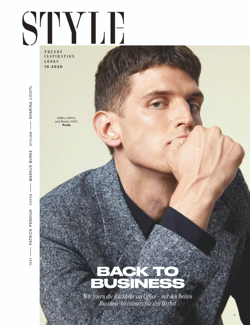 Back to Business: Andre for GQ Germany