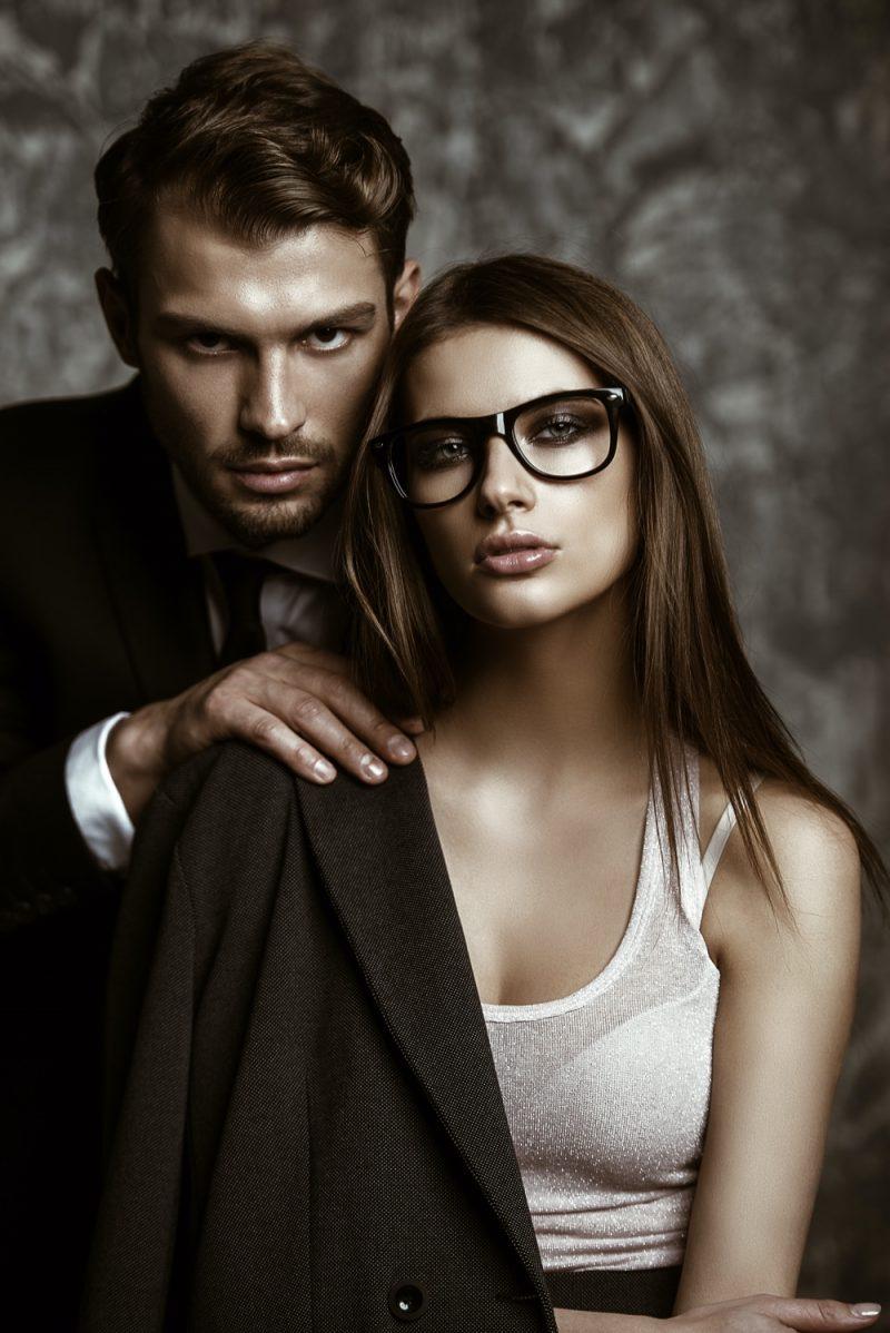 Attractive Model Couple