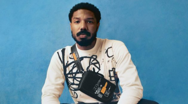 Michael B. Jordan Joins Jean-Michel Basquiat Family for Coach Collection Campaign