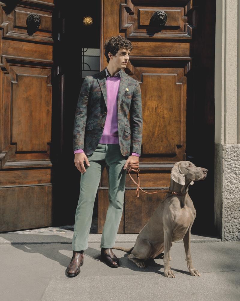 Maxime & Alberto Don Etro's 24 Hour Jacket