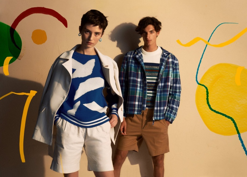 The Art of Vacation: Aaron Dons GANT Pre-Fall Style