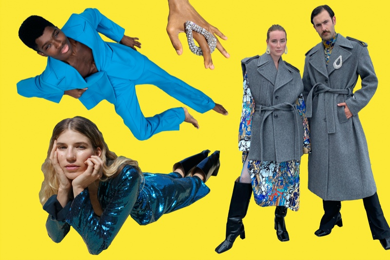 H&M taps Alton Mason, Veronika Heilbrunner, and Young Emperors to showcase looks from its fall-winter 2020 Studio collection.