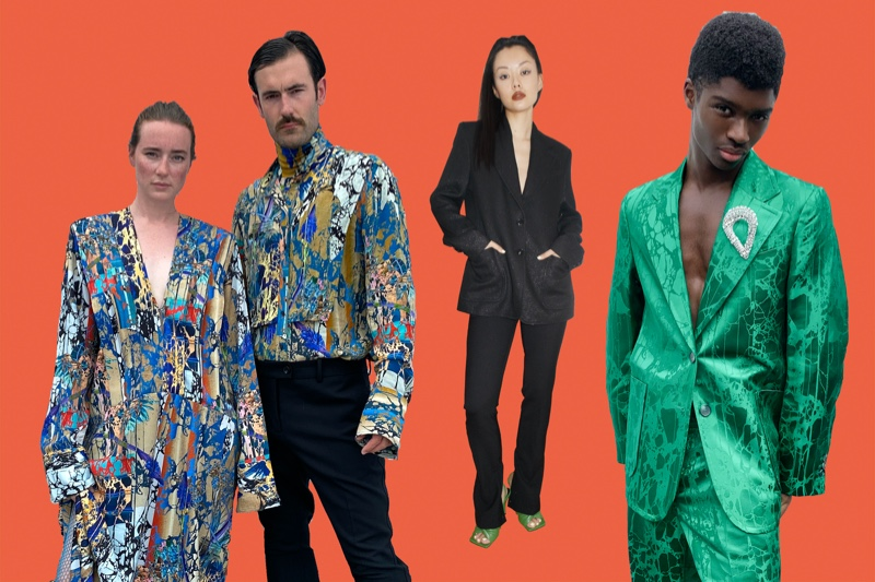 Young Emperors, Mia Kong, and Alton Mason stand out in fall-winter 2020 looks from H&M Studio.
