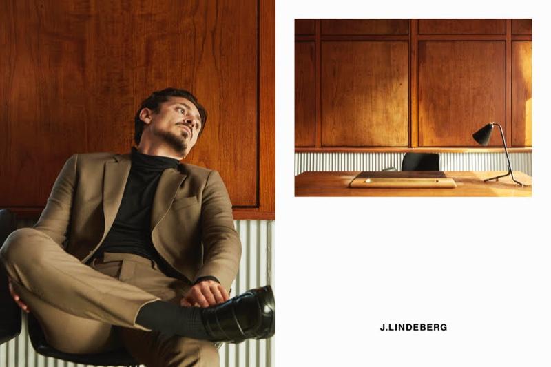 Alexej Manvelov & Qhris Magsino Front J.Lindeberg Fall '20 Campaign