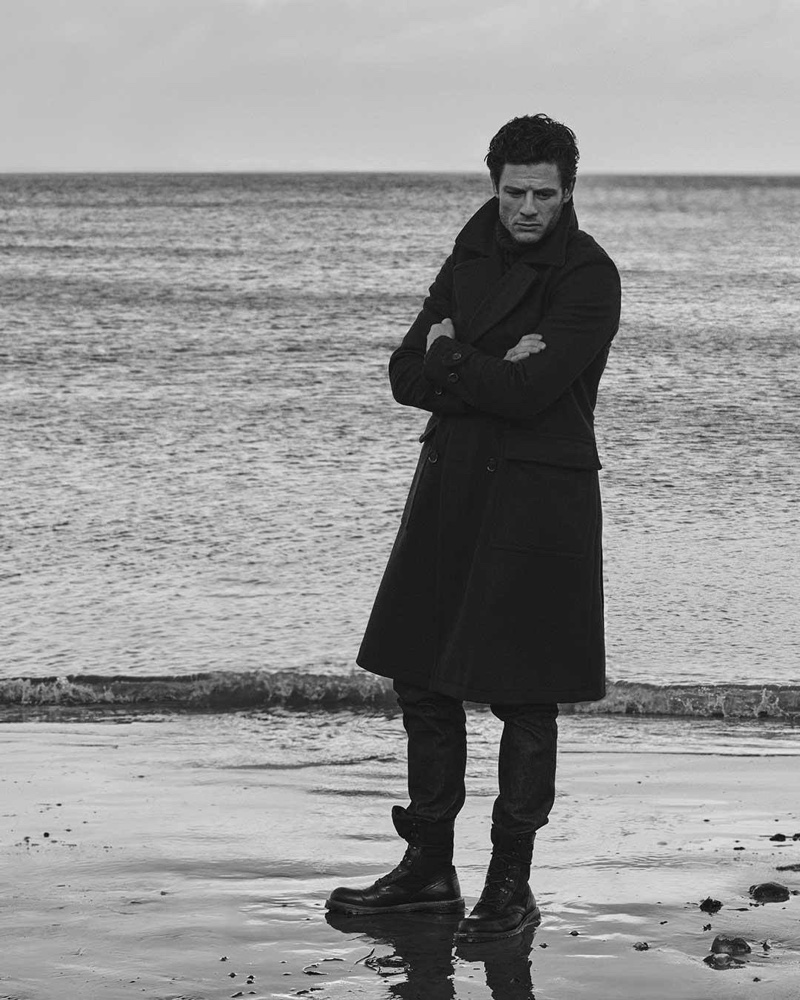 Belstaff enlists actor James Norton as the star of its fall-winter 2020 campaign.