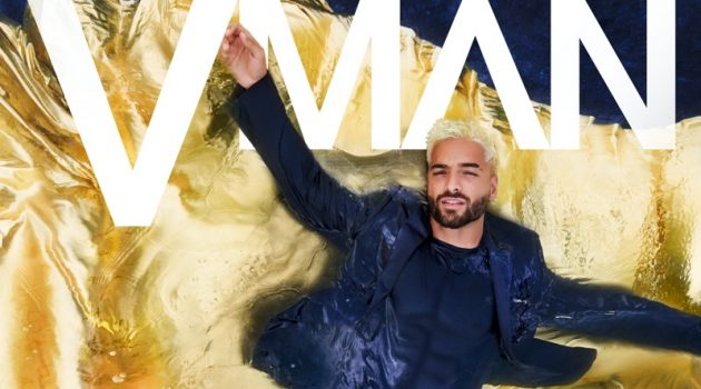 Maluma stars in a digital cover for VMAN.