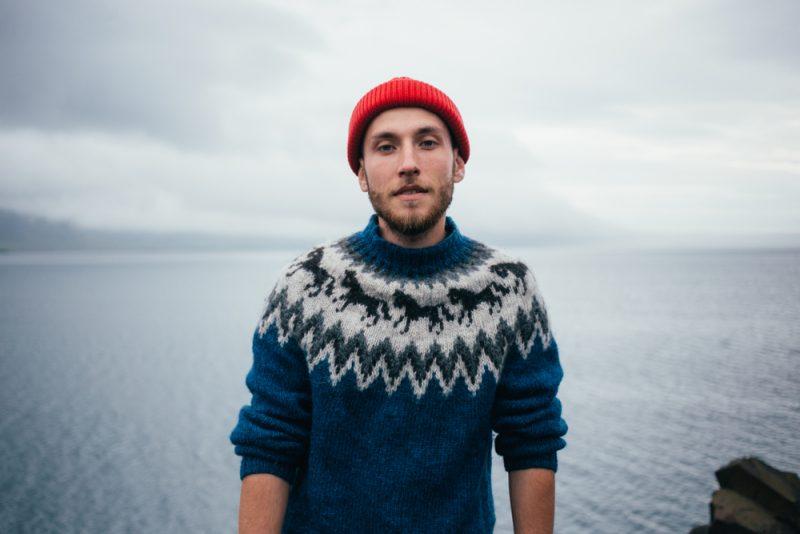 Man in Fairisle Sweater