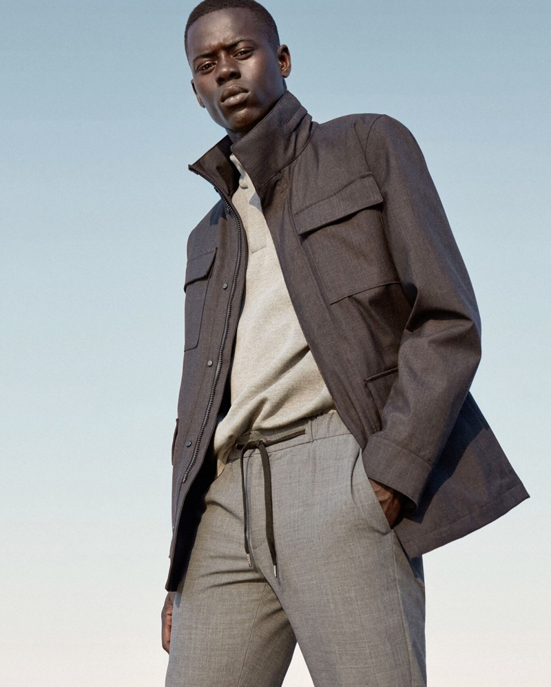 Improved: Mango Unveils Collection for Men on the Go