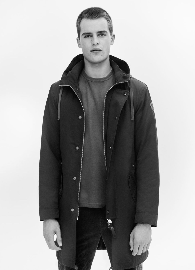 Marc O'Polo taps Parker van Noord as the star of its fall-winter 2020 campaign.