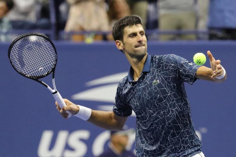 Novak Djokovic at 2018 US Open.