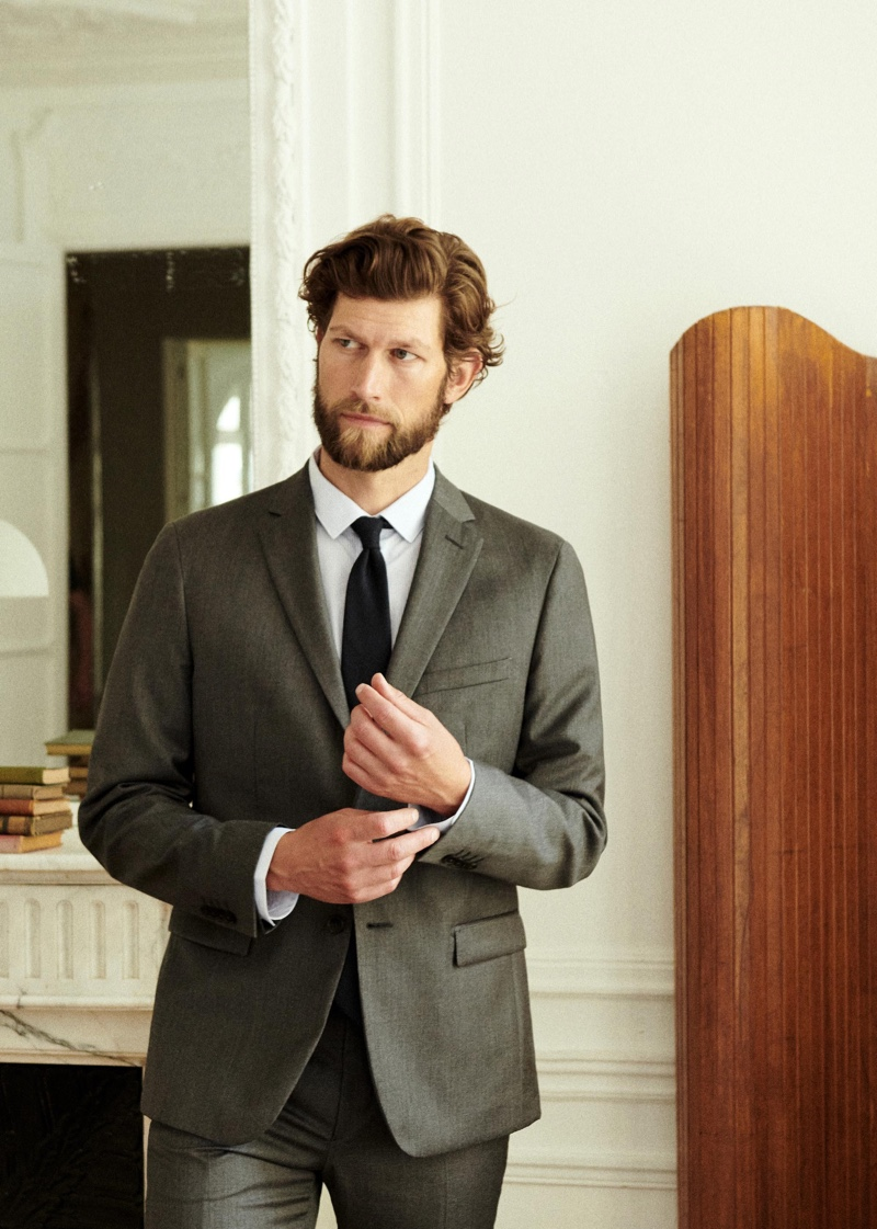 Jan Suits Up in Octobre Semaine Collection