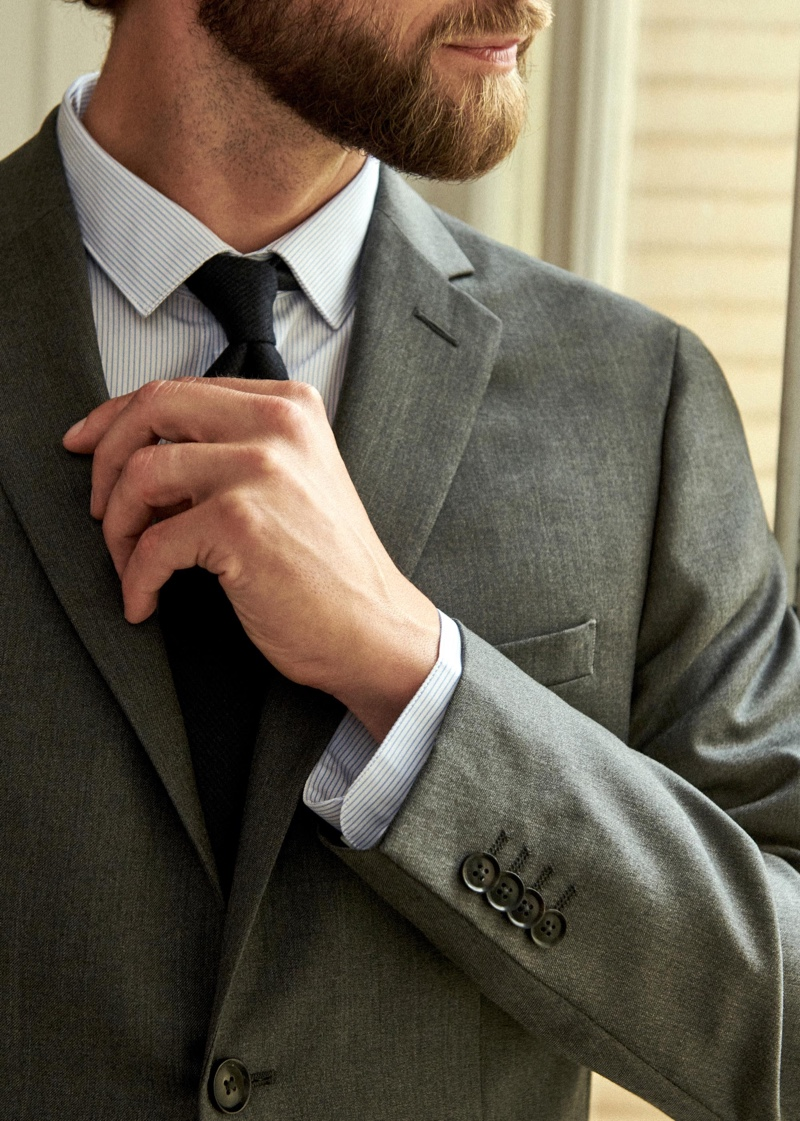 Octobre's Warren jacket comes in a classic gray color for fall.