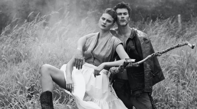 Reborn Love Story: Pascal & Silke for L'Officiel Lithuania