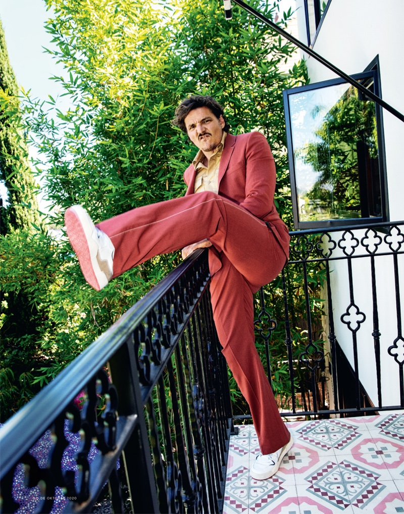 Pedro Pascal is a Fashion Plate for GQ Germany Cover Story