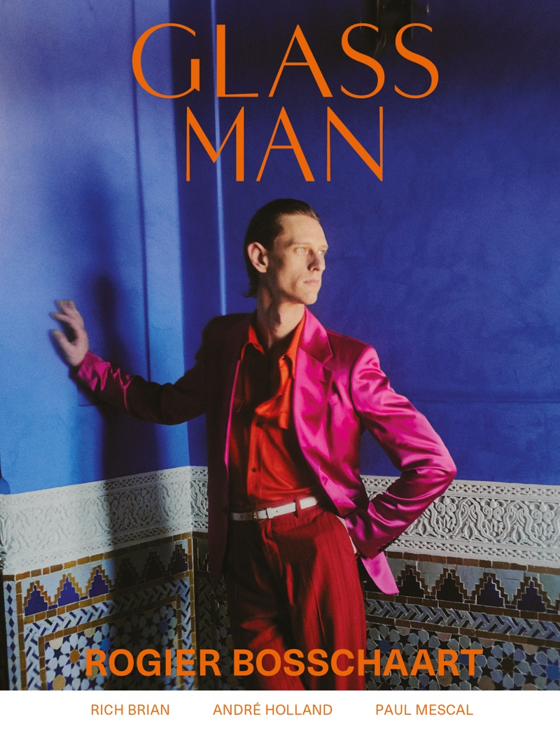 Rogier Embraces Dapper Style for Glass Man Cover Shoot