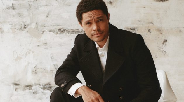 Gioncarlo Valentine photographs Trevor Noah for WSJ. Magazine.