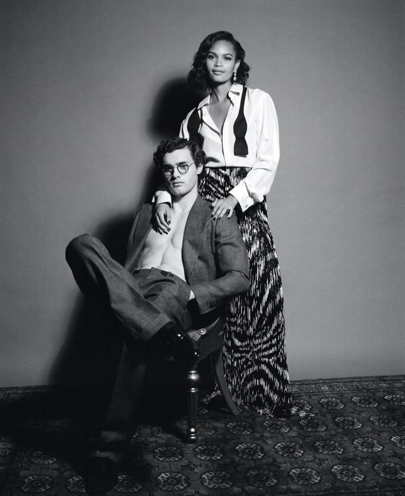 Ricardo & Harrison Channel the '20s for Corriere della Sera Style