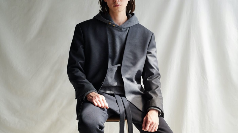 Marc Hibbert links up with Mr Porter to photograph the new Fear of God for Ermenegildo Zegna collection.