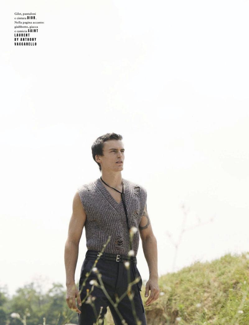 No Man's Land: Jack & Al for GQ Italia