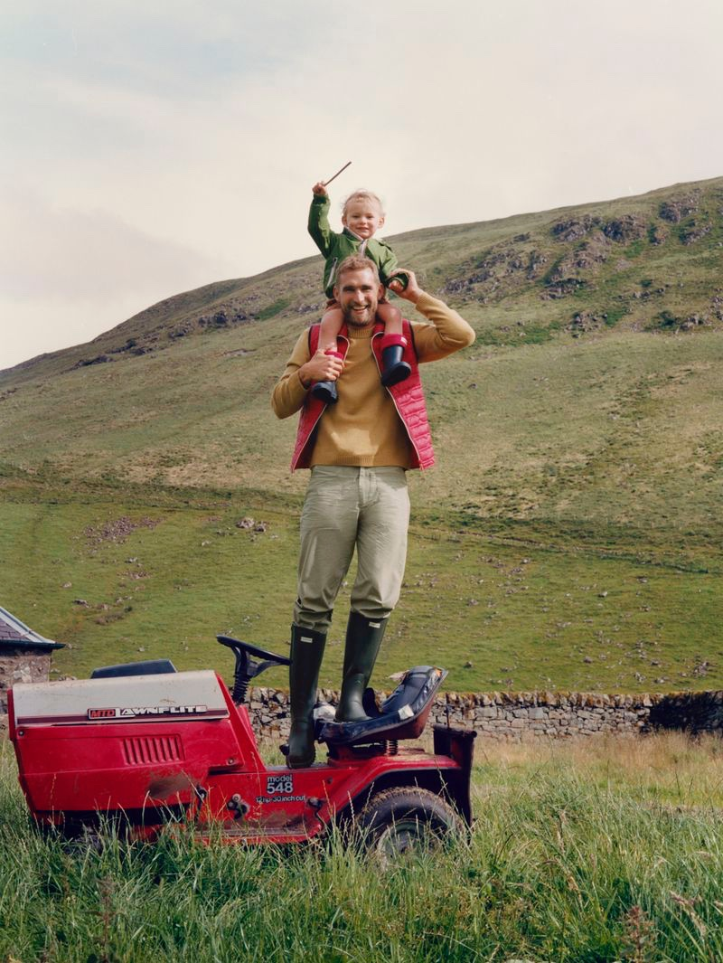 Martin Zähringer photographs Will Chalker for Hunter Boots' fall-winter 2020 campaign.