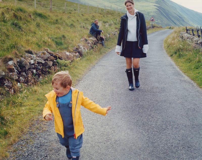 Will Chalker & Family Front Hunter Boots Fall '20 Campaign