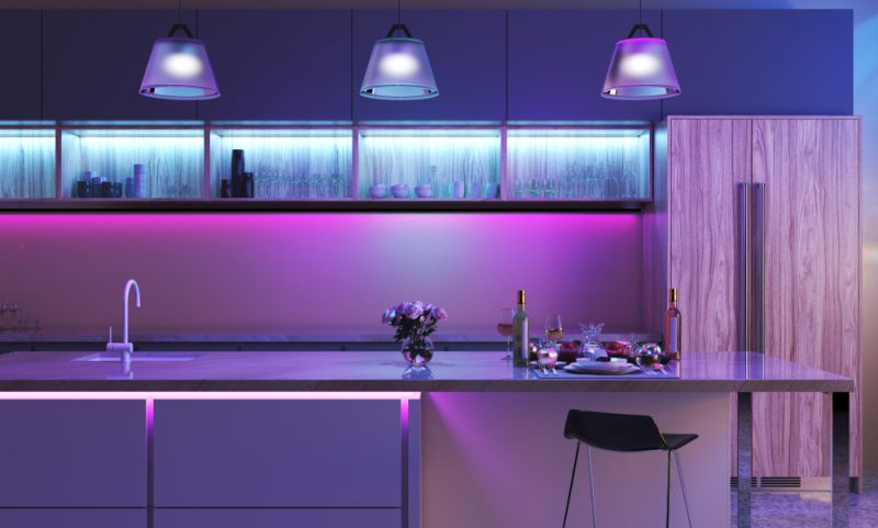 led strip lights decoration ideas for 8 most common