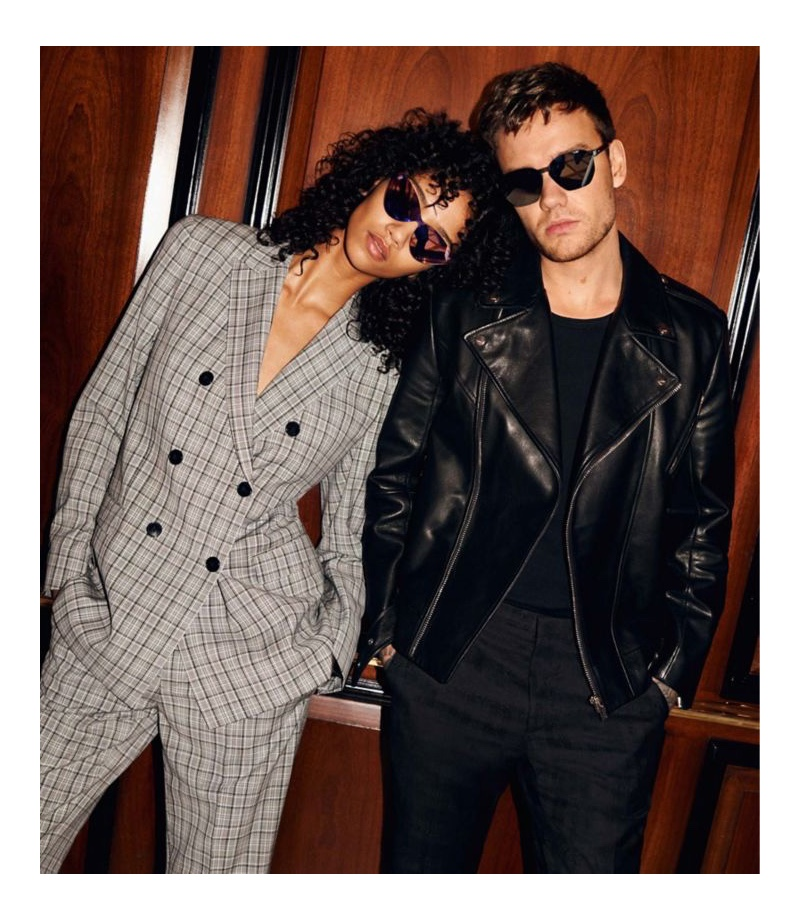 Model Aiden Curtiss and singer Liam Payne come together as the stars of HUGO's fall-winter 2020 eyewear campaign.