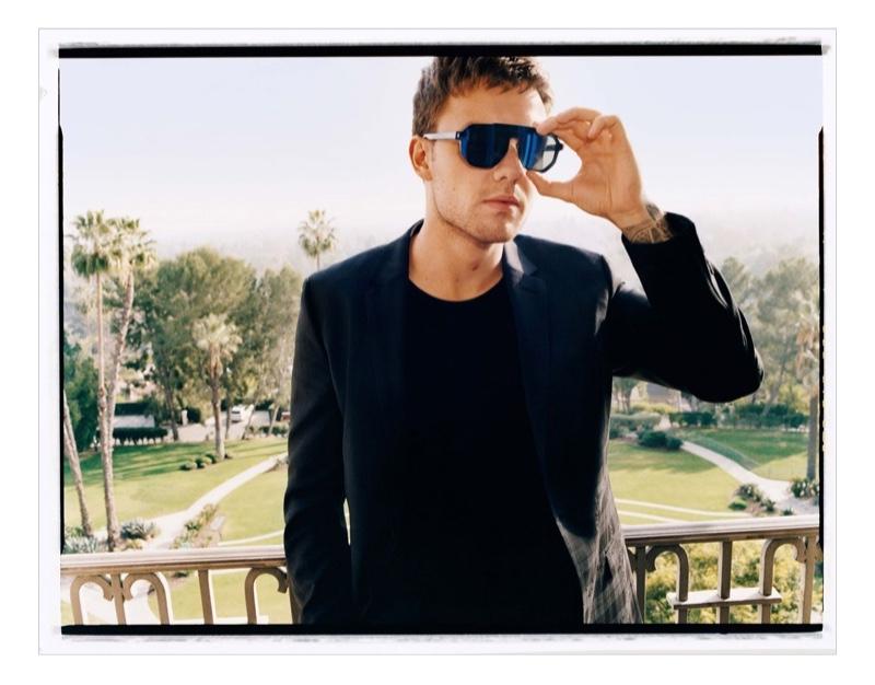 Singer Liam Payne fronts HUGO's fall-winter 2020 eyewear campaign.