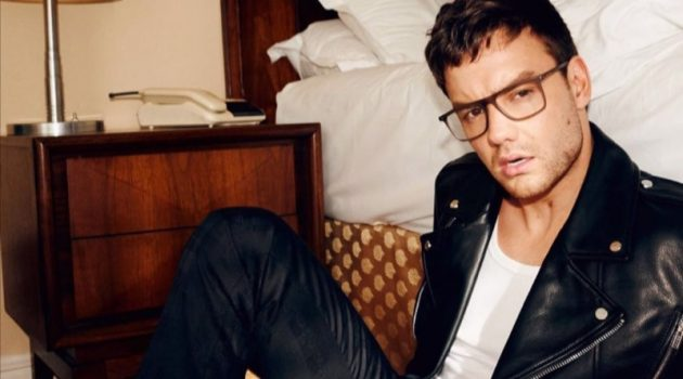 Donning glasses, Liam Payne appears in HUGO's fall-winter 2020 eyewear campaign.