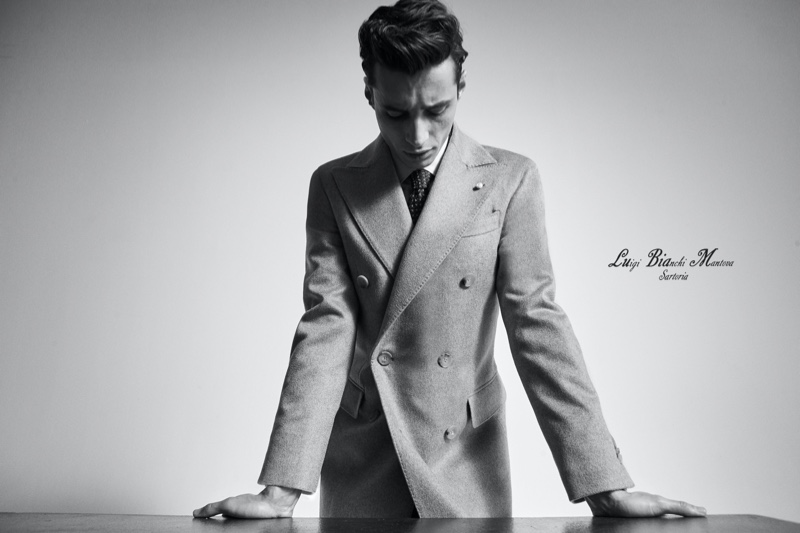 Adrien Suits Up for Luigi Bianchi Mantova Fall '20 Campaign