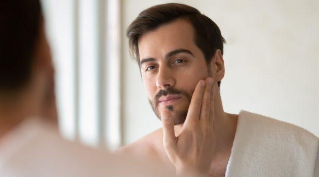 Male Model Mens Skincare