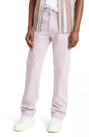 Men's Levi's 501 Straight Leg Jeans, Size 33 x 32 - Grey