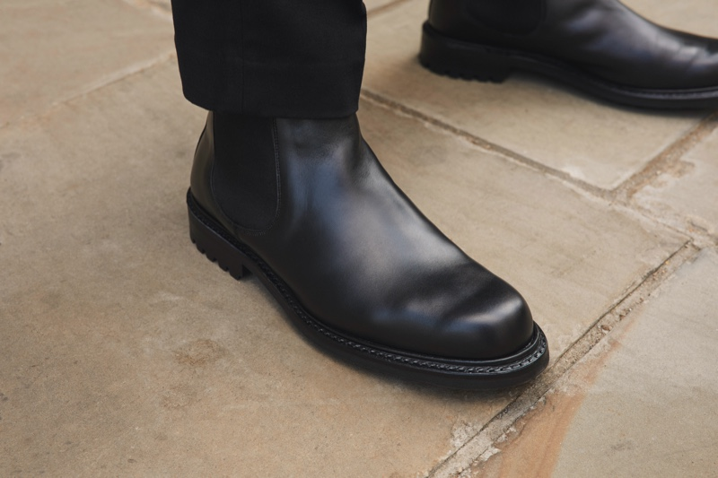 Outfitting men head to toe, Mr Porter delivers classic style with a pair of leather boots, as part of its Mr P. collection.