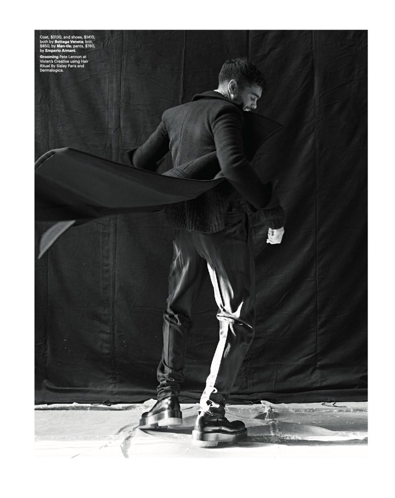 Strong Generations: Nathan Stars in GQ Australia Story