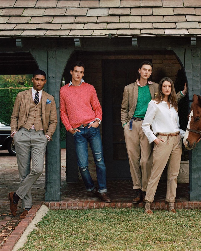 POLO Ralph Lauren Delivers 'Heritage Icons' for Fall '20 Collection