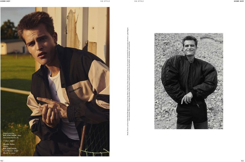 Parker Makes a Balenciaga Statement in GQ Style Germany