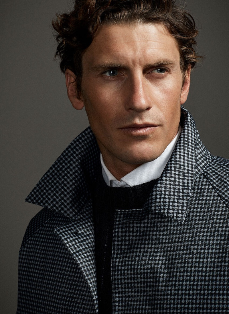 Comfort Zone: Jaymes Dons Easily Chic Looks for Pedro del Hierro