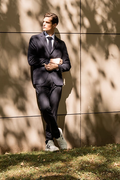 Pau Suits Up in Sharp Fall Looks for Roberto Verino