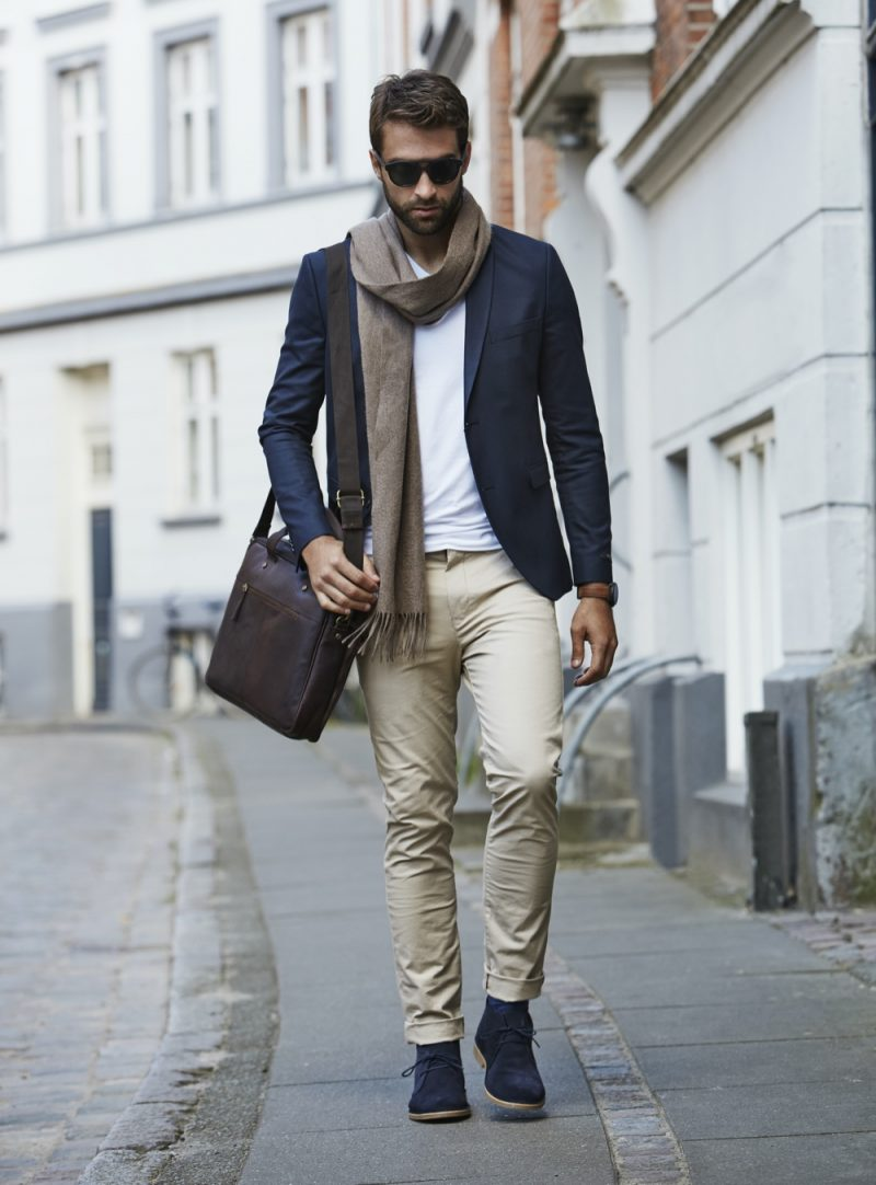 Stylish Man City Streets