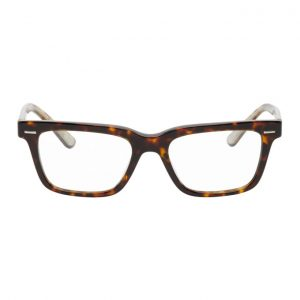 The Row Brown Square Glasses