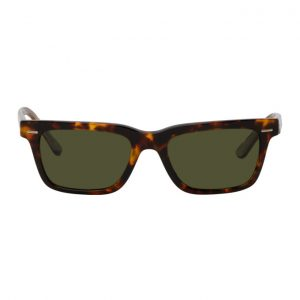 The Row Tortoiseshell Square Sunglasses