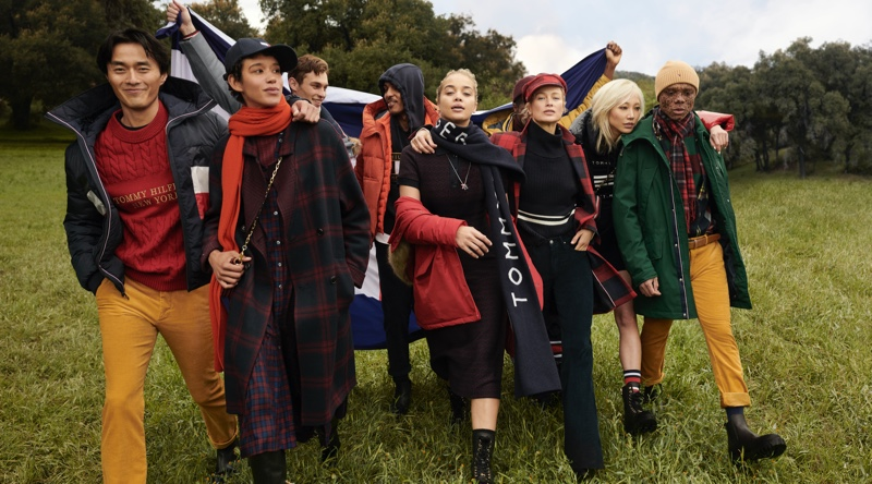 Moving Forward Together: Tommy Hilfiger Fall '20 Campaign