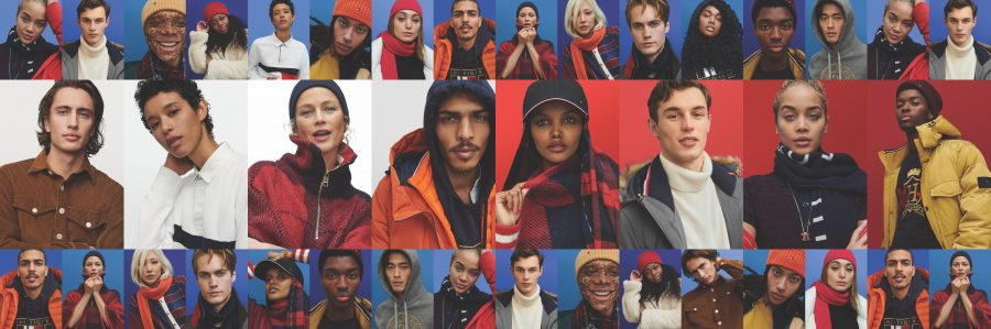 """Tommy Hilfiger presents its fall-winter 2020 campaign entitled """"Moving Forward Together."""""""