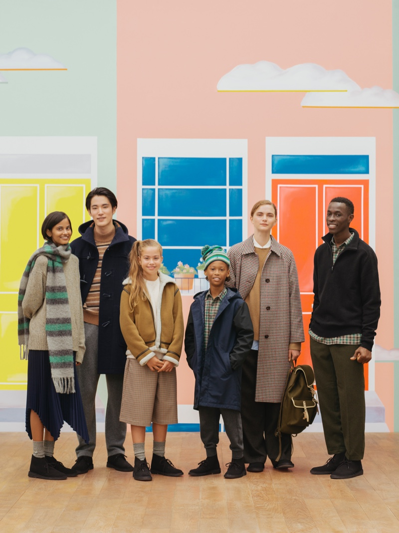 UNIQLO reunites with JW Anderson for a fall-winter 2020 collection inspired by everyday London life.